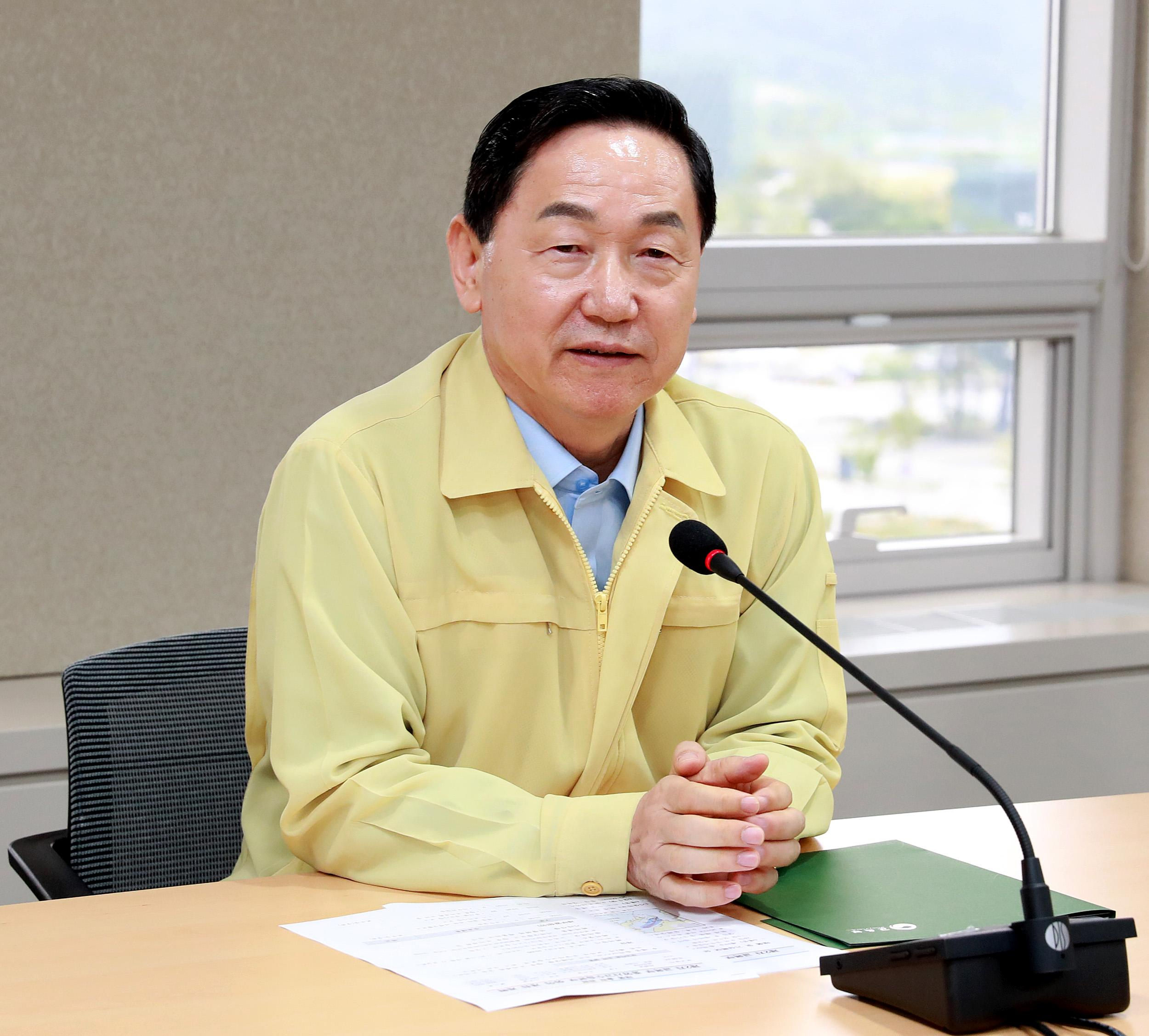 (Typhoon Soulik) 2nd Central Disaster Safety Relief Headquarters Meeting of the Ministry of Education 사진