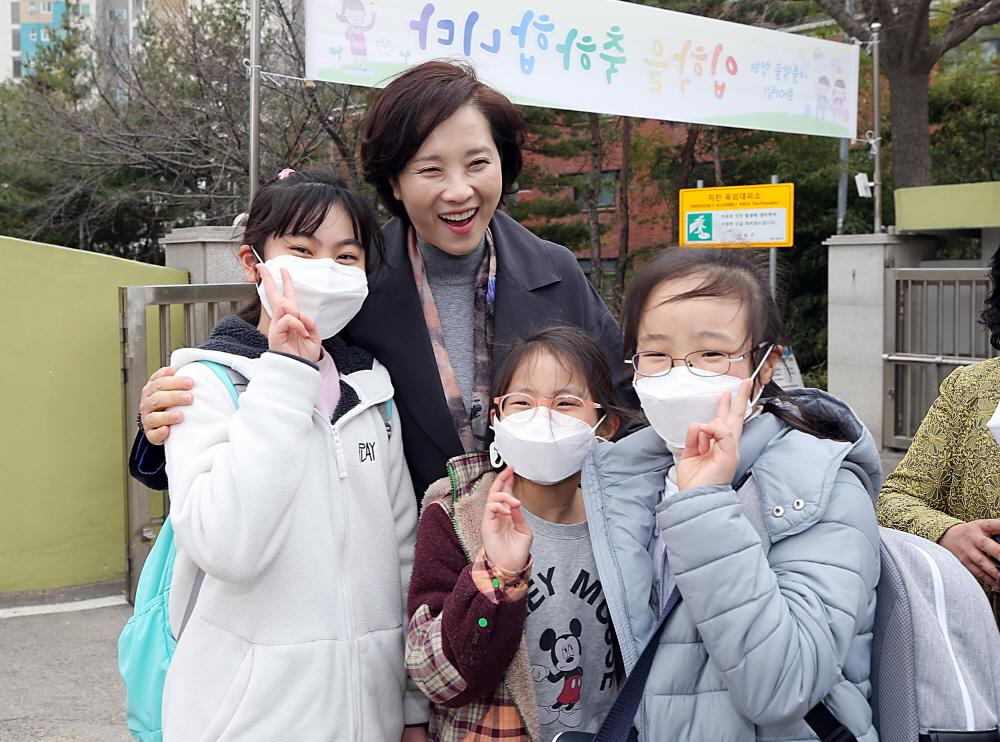 DP Minister Talks about School-level Actions to Deal with Fine Dust 사진
